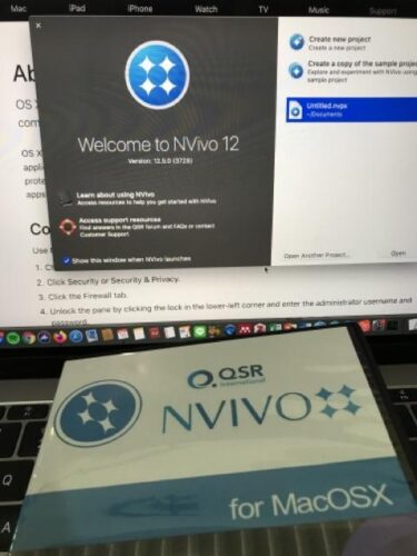QSR NVIVO 12 for MacOSX  Full Version photo review